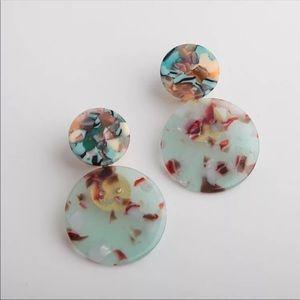 NWT Anthro Lele Sadoughi Blue Drop Earrings